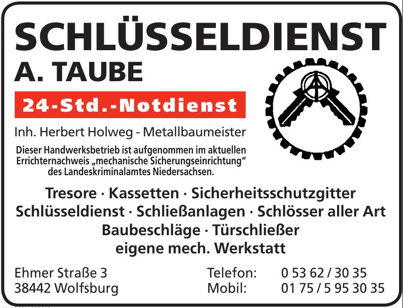 Schlüsseldienst A. Taube