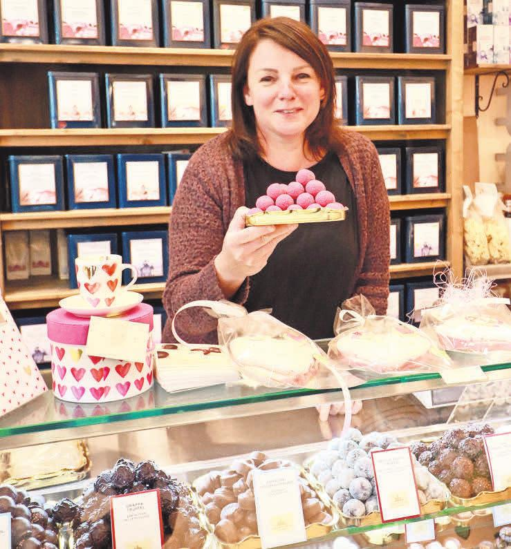 Angelika Jopke bietet ihren Kunden bei Genussvoll immer wieder neue Köstlichkeiten an.