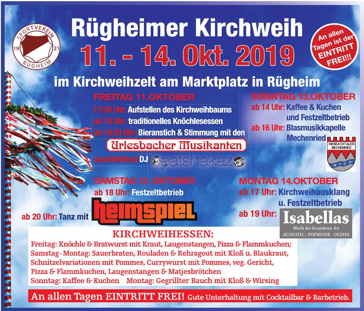 Rügheimer Kirchweih