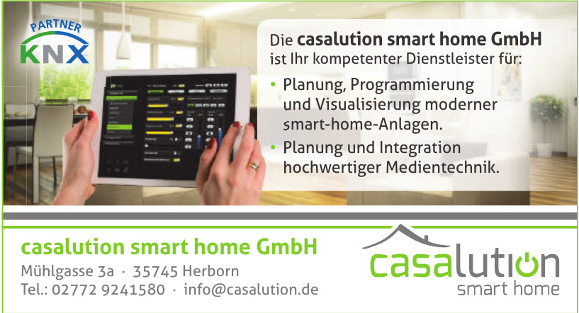 casalution smart home GmbH