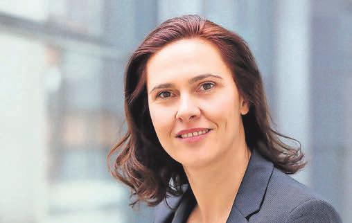 Katrin Patynowski, Geschäftsführerin der Architektenkammer M-V. Foto: Silke Winkler