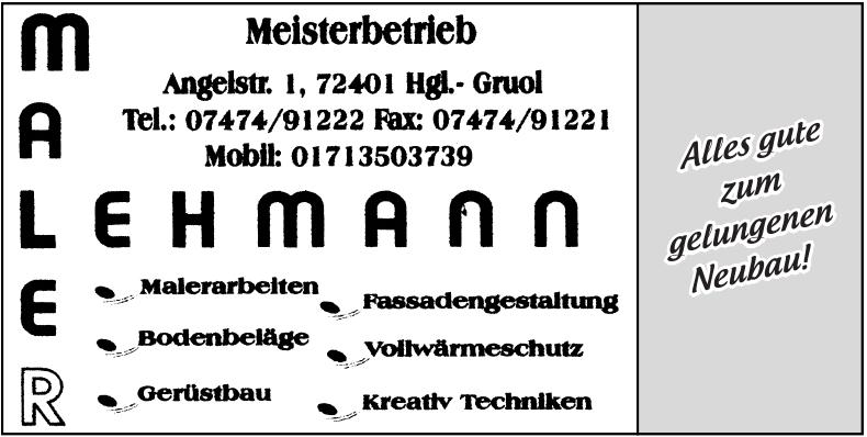 Maler Lehmann
