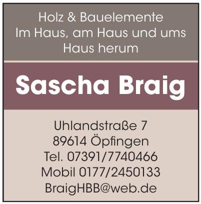 Sascha Braig