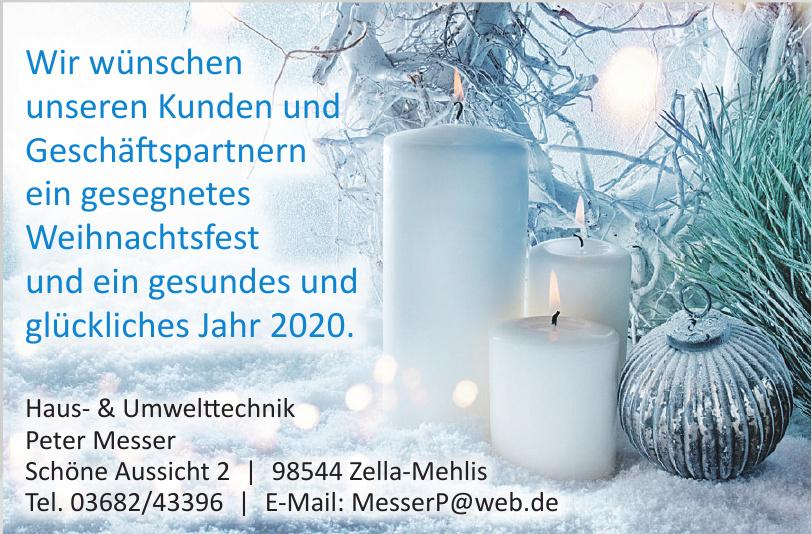 Haus- & Umwelttechnik Peter Messer