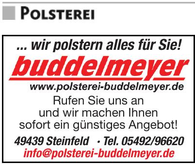 Buddelmeyer Polsterei