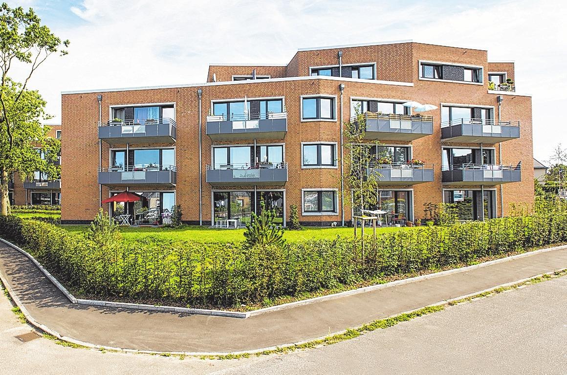 Echte Hingucker sind die drei neuen Gebäude im Utkiek in Kücknitz.Zwischen Lübeck und Travemünde können sich die Trave-Mieter wohlfühlen.