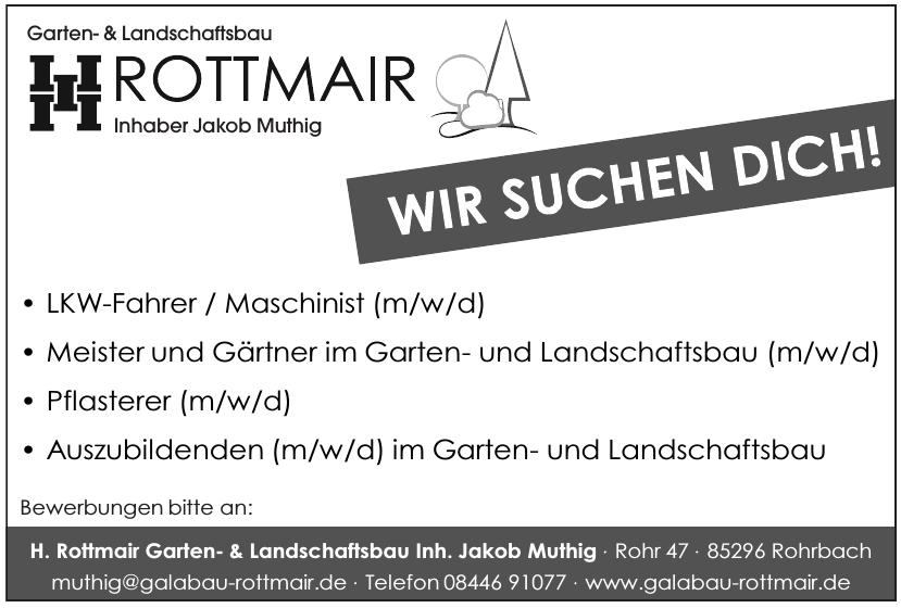 H. Rottmair Garten- & Landschaftsbau Inh. Jakob Muthig