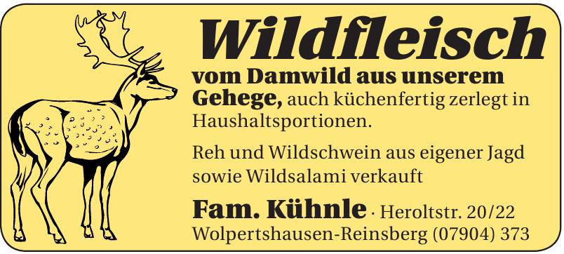 Wildfleisch Fam. Kühnle