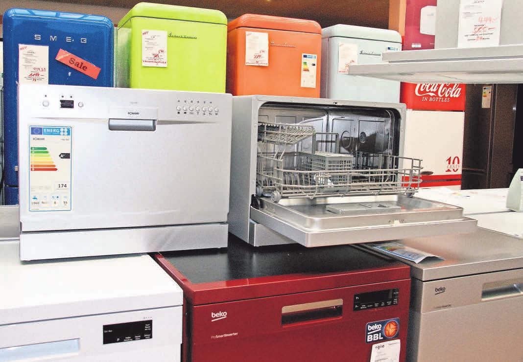 Große Auswahl, kleine Preise: Ein neuer Kühlschrank sorgt für frischen Glanz in der Küche.