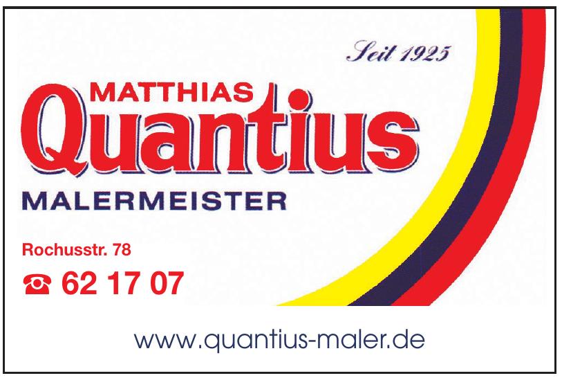 Matthias Quantius Malermeister