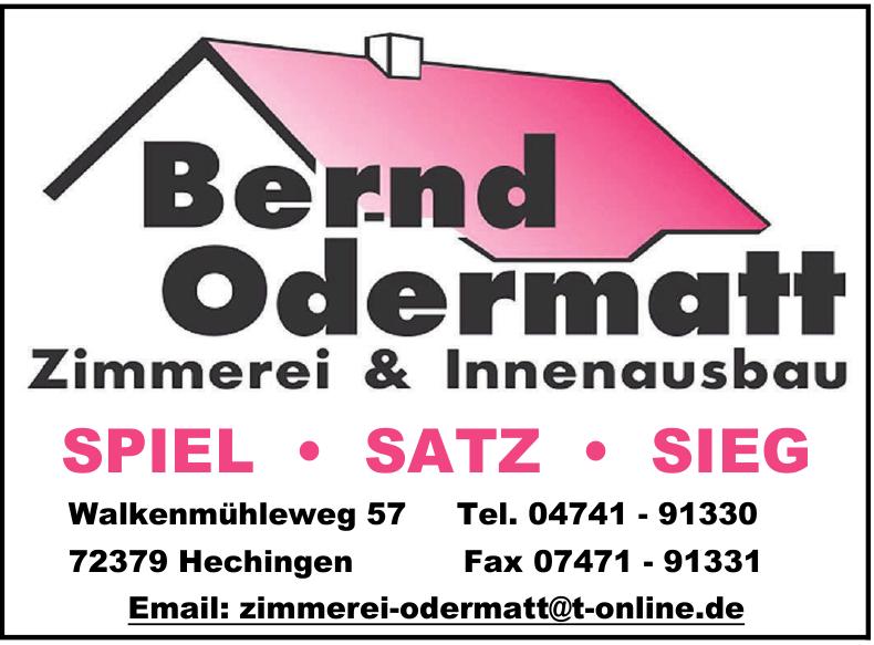 Bernd Odermatt Zimmerei & Innenausbau