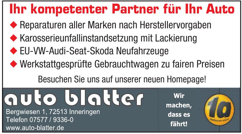 Auto Blatter
