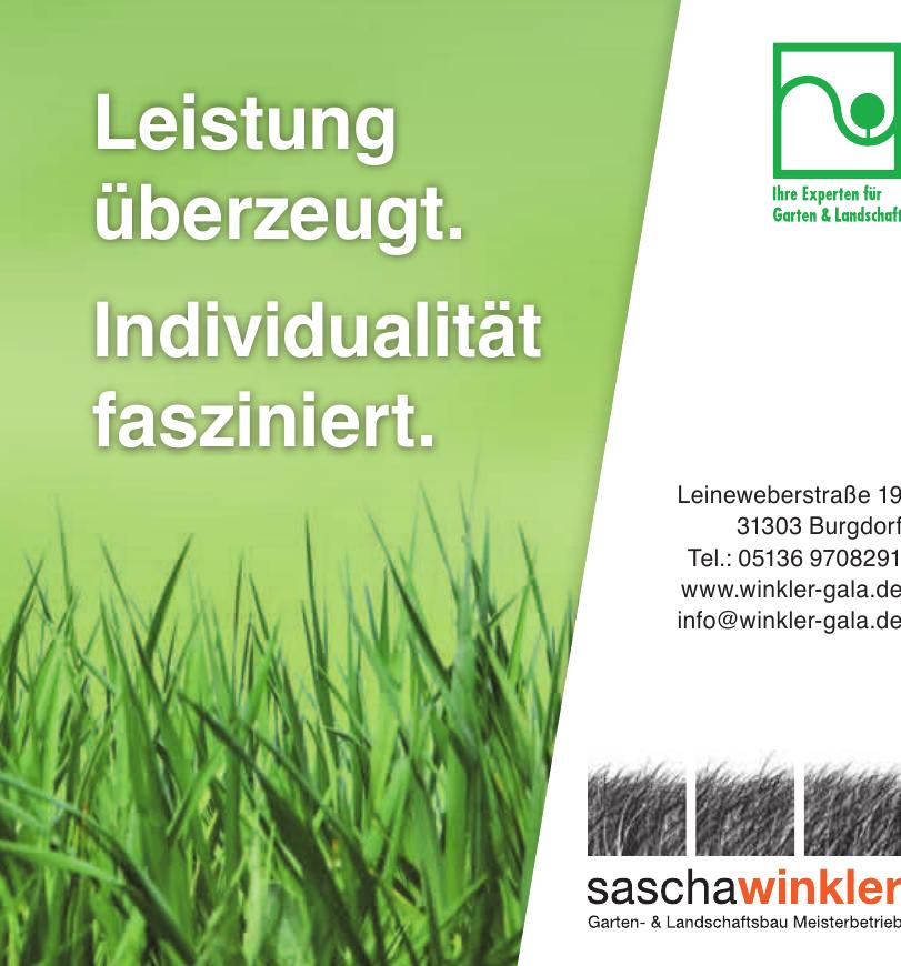 Sascha Winkler Garten- & Landschaftsbau Meisterbetreib