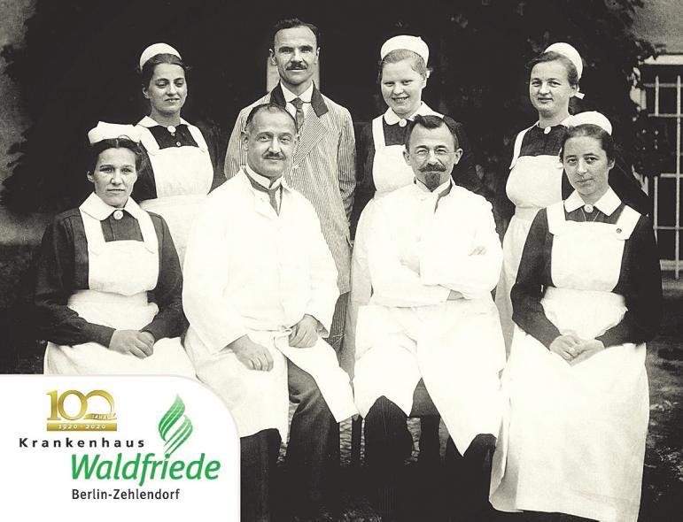Foto: Krankenhaus Waldfriede, Gründungsteam