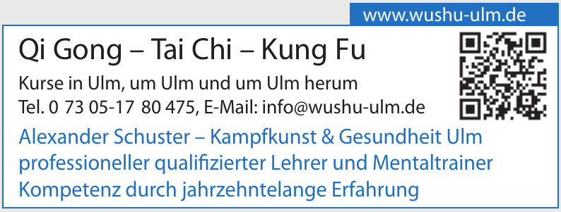 Qi Gong – Tai Chi – Kung Fu