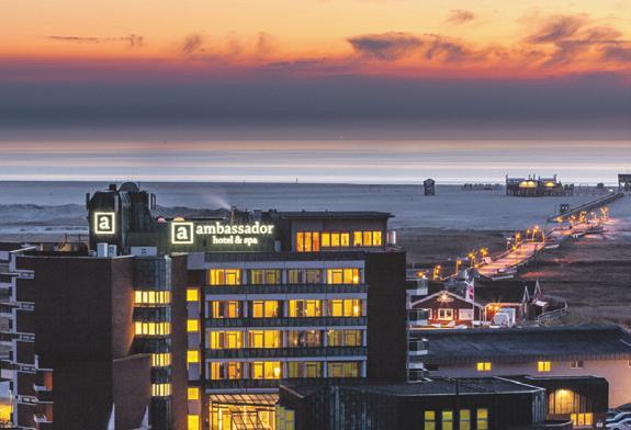 4-Sterne-Superior-Hotel direkt am Meer. Foto: ambassador hotel & spa