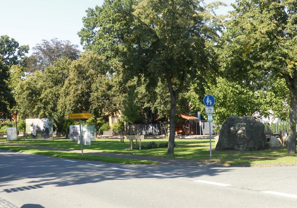 Neugestaltung des Dorfplatzes in Ummern als Projekt für das Dorferneuerungsprogramm. Foto: Gesa Walkhoff