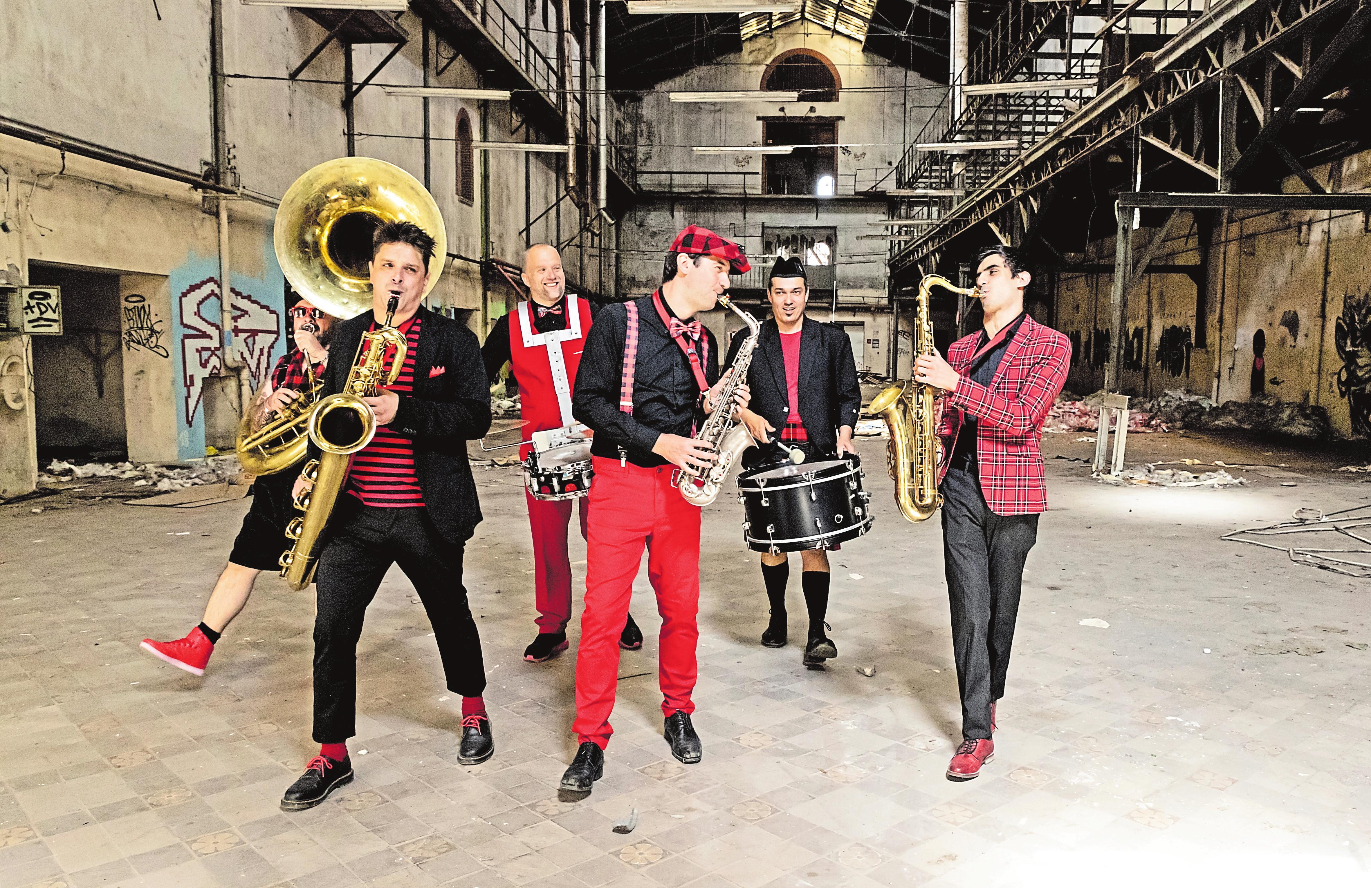 """Brass Bands wie """"Ghetto Blaster"""" (Hier im Bild), """"Hunneg-Strëpp"""" und """"Brass Machine"""" werden dem Publikum einheizen."""