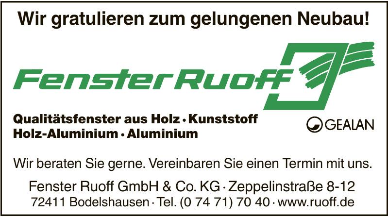 Fenster Ruoff GmbH & Co. KG