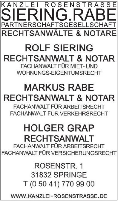 Kanzlei Rosenstraße Siering.Rabe