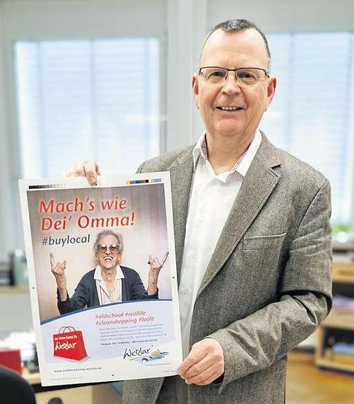 Rainer Dietrich apelliert als Geschäftsführer des Stadt-Marketing Wetzlar an die gesellschaftliche Verantwortung für den lokalen Einzelhandel. Foto: Tina Fischbach