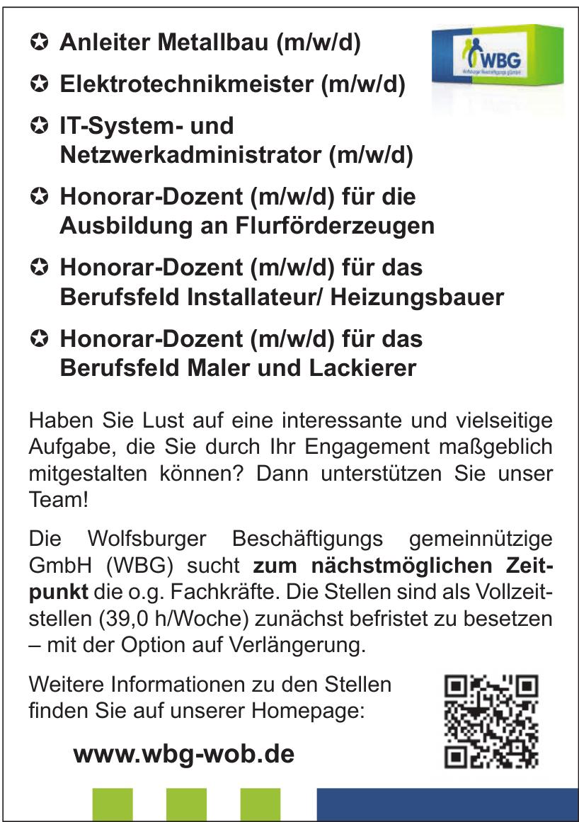 Wolfsburger Beschäftigungs gemeinnützige GmbH (WBG)