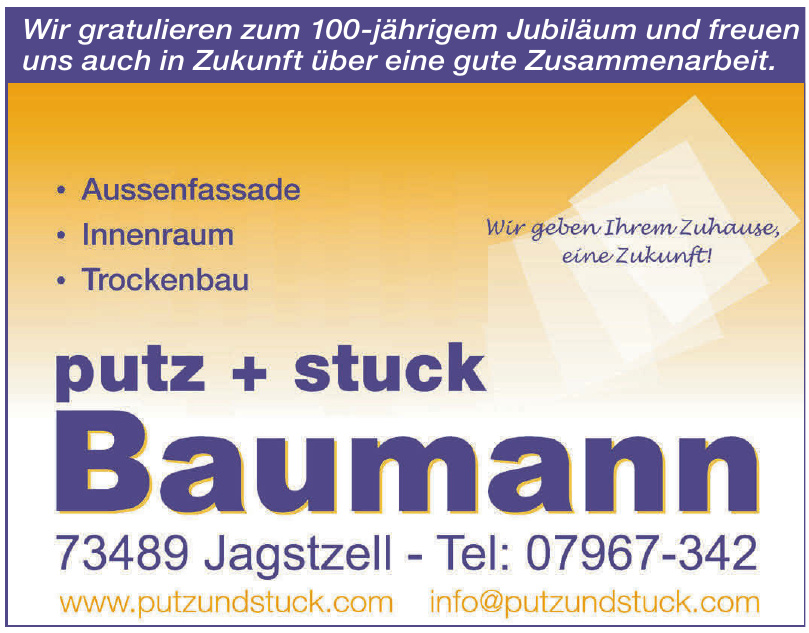 Baumann Putz + Stuck