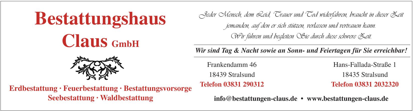 Bestattungshaus Claus GmbH