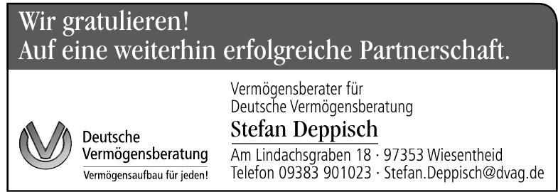 Vermögensberater für Deutsche Vermögensberatung Stefan Deppisch