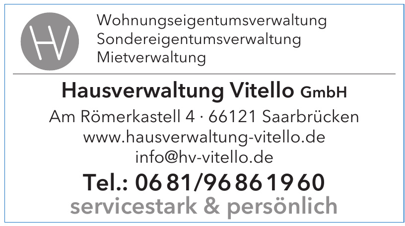 Hausverwaltung Vitello GmbH