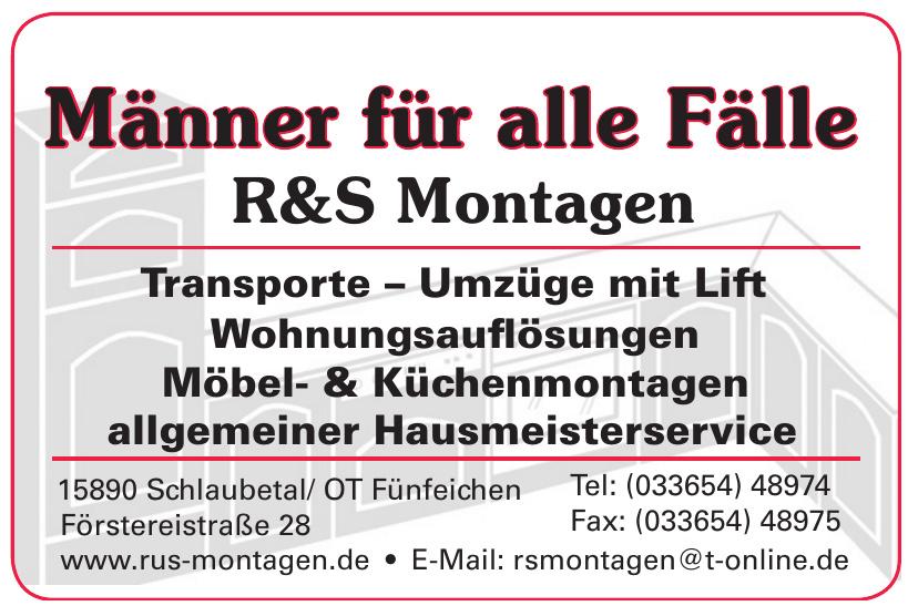 R&S Montagen