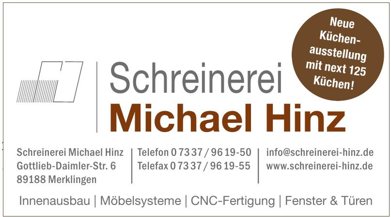 Schreinerei Michael Hinz