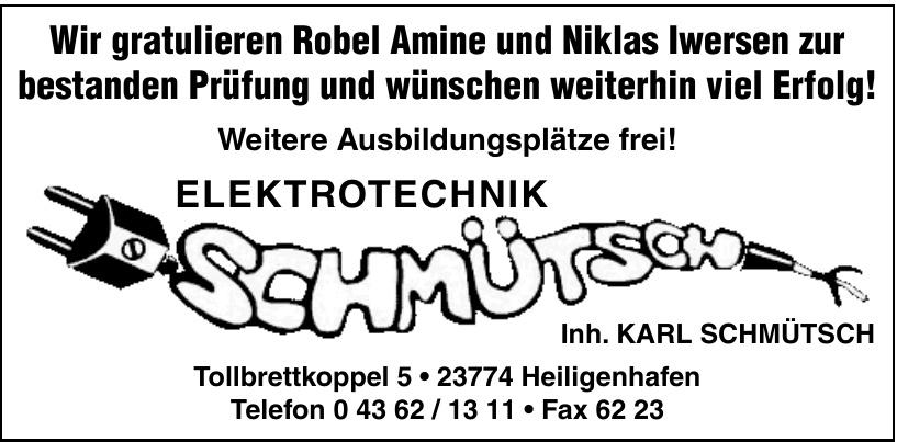Elektrotechnik Schmütsch