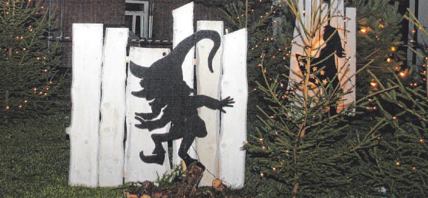 Ein Highlight: Der Märchenwald in Buchheim. FOTO: PM