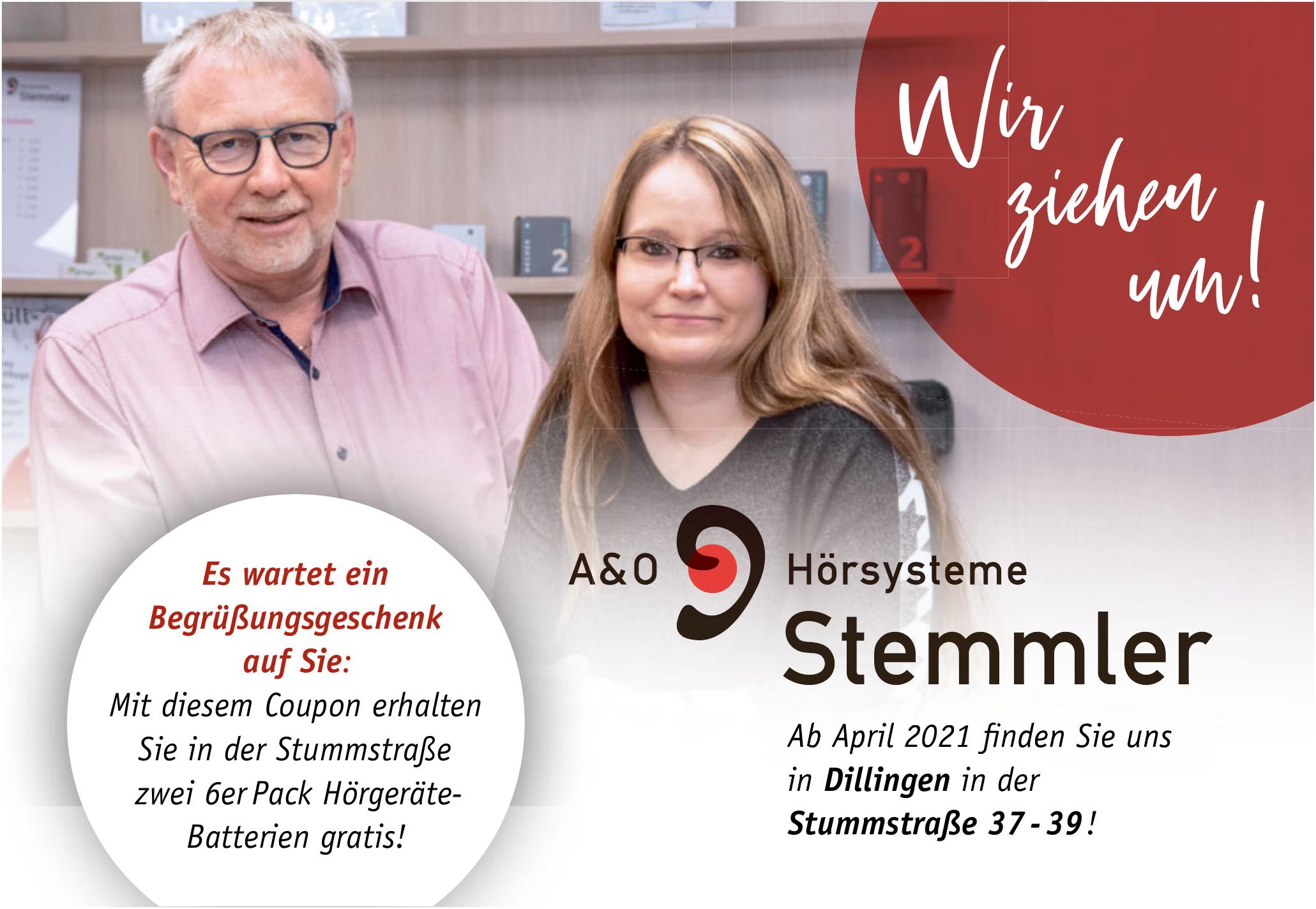 A&O Hörsysteme Stemmler GmbH