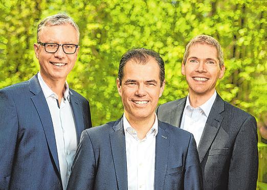 Veränderungen beim Vorstand im Hospital zum Heiligen Geist: von links Frank Schubert, Hartmut Clausen und Michael Kröger