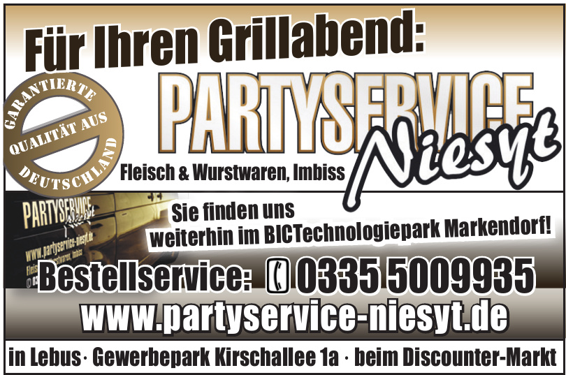 Partyservice Niesyt