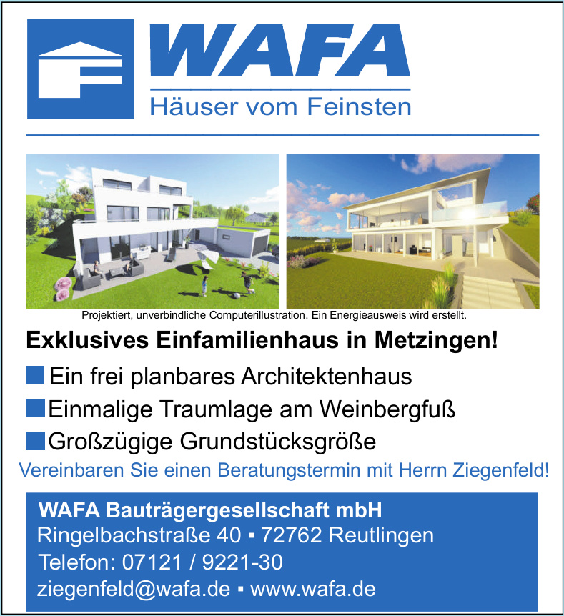 WAFA Bautgrägergesellschaft mbH
