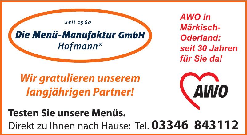 AWO - Die Menü-Manufaktur GmbH Hofmann