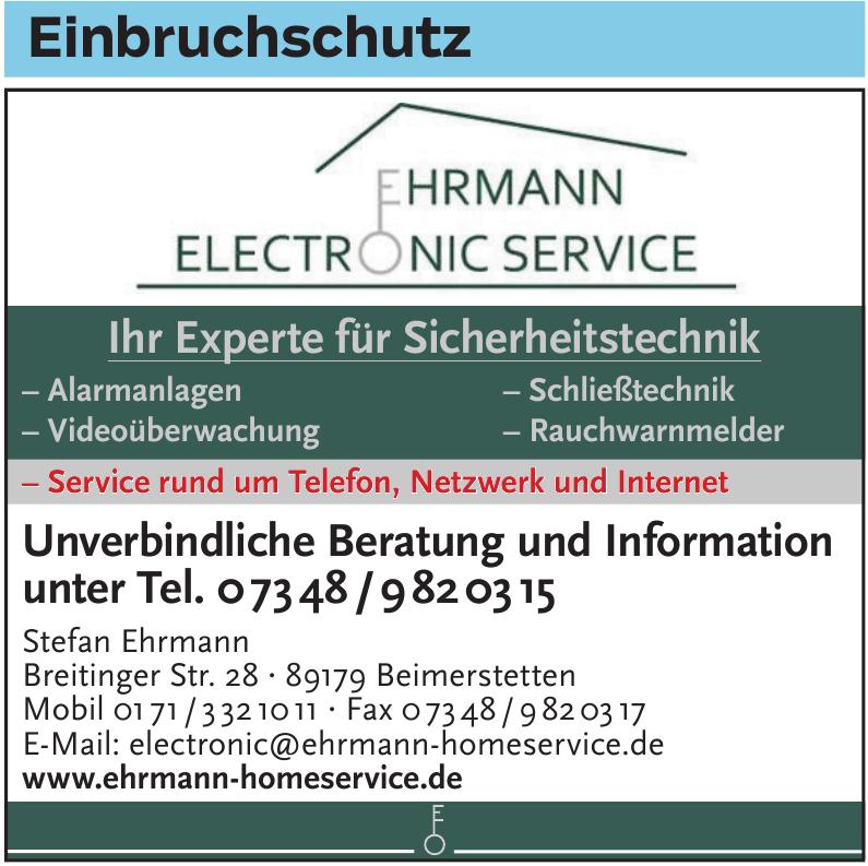 Ehrmann Elektronic Service