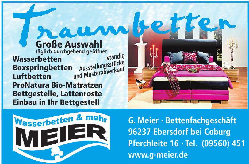 Wasserbetten & mehr Meier