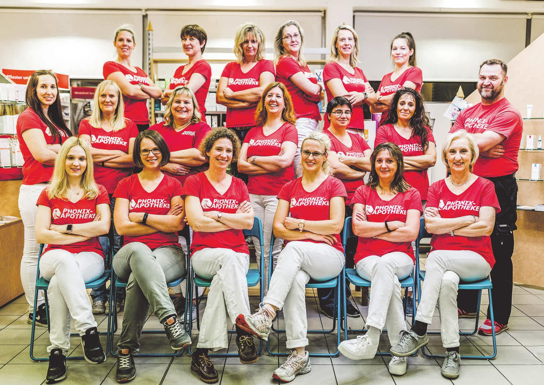 Das engagierte Team um Apothekenleiterin Christine Pandel berät individuell und freundlich. Foto: privat