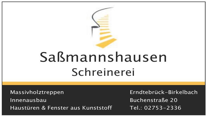 Saßmannshausen Schreinerei