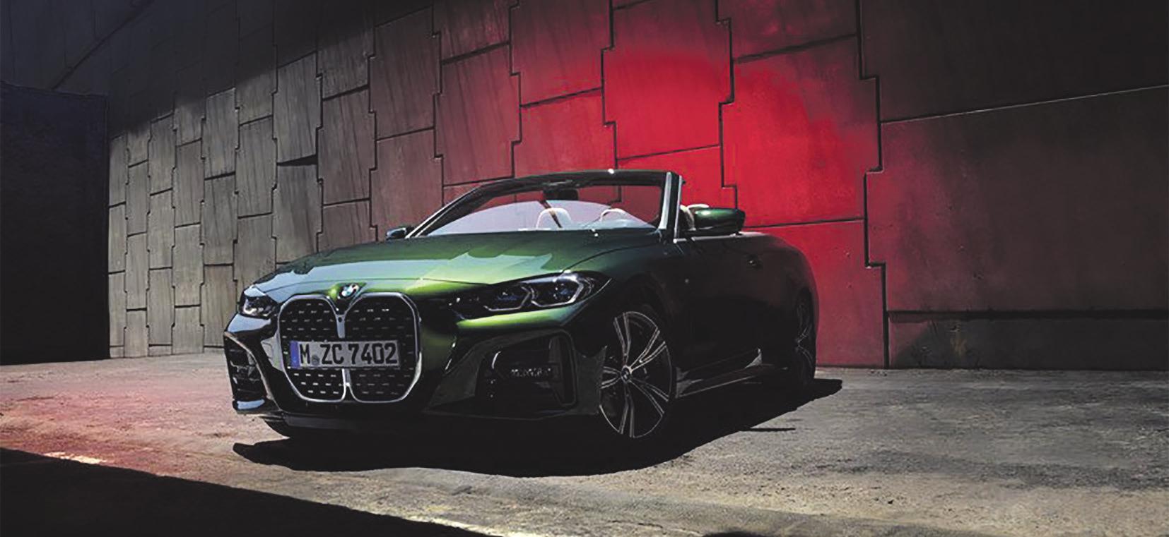 Fahrfreude garantiert im BMW M 440i x Drive Cabrio *(Abbildung zeigt Sonderausstattungen). Foto: BMW *Kraftstoffverbrauch kombiniert in l/100 km: 7,4-6,9 (NEFZ)/8,4-7,8 (WLTP); CO2-Emissionen in g/km: 169-159 (NEFZ)/192-177 (WLTP)