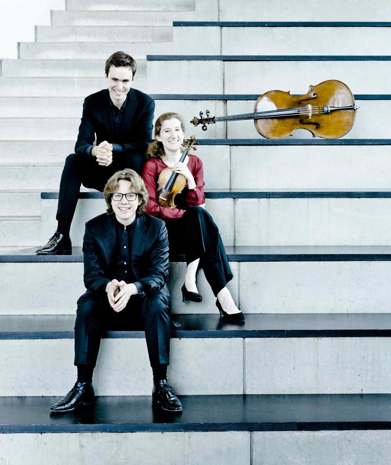 Das Van Baerle Trio aus Amsterdam. Foto: Marco Borggreve