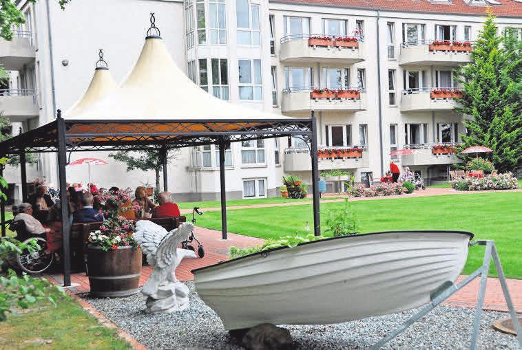 Die Einrichtung ist für die Bewohner ein gemütliches Heim mit optimaler Pflege und Betreuung.