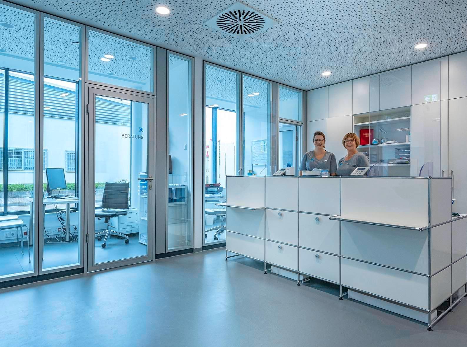 Die neuen Praxisräume in Sinsheim in der Muthstraße 34 sind technisch hochmodern ausgestattet und bieten beste Rahmenbedingungen für minimalinvasive Eingriffe am Auge. Fotos: privat