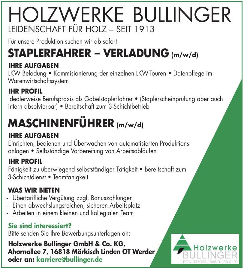 Holzwerke Bullinger GmbH & Co. KG
