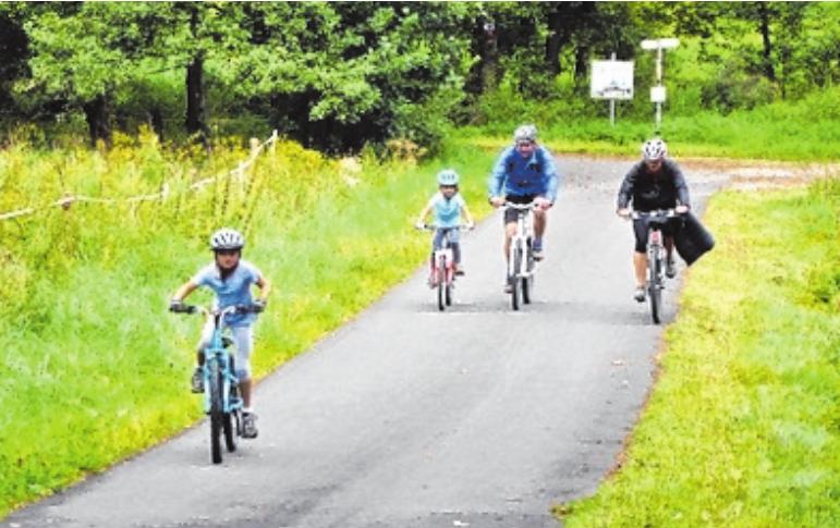 Radfahren mit Kindern ist dem Veranstalter besonders wichtig.