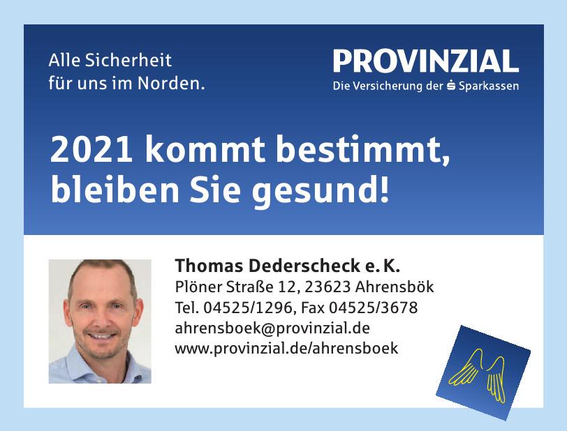 Provinzial Thomas Dederscheck e.K.